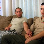 All American Heroes LANCE CORPORAL MORGIES FIRST GAY BLOWJOB 02 150x150 Real Straight Marine Gets His First Blowjob From Another Marine