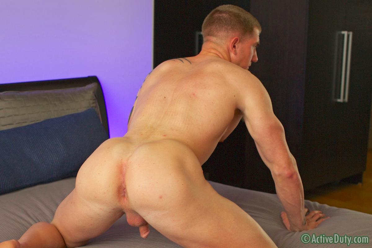 image Officesex hunk tug cock after assfucking