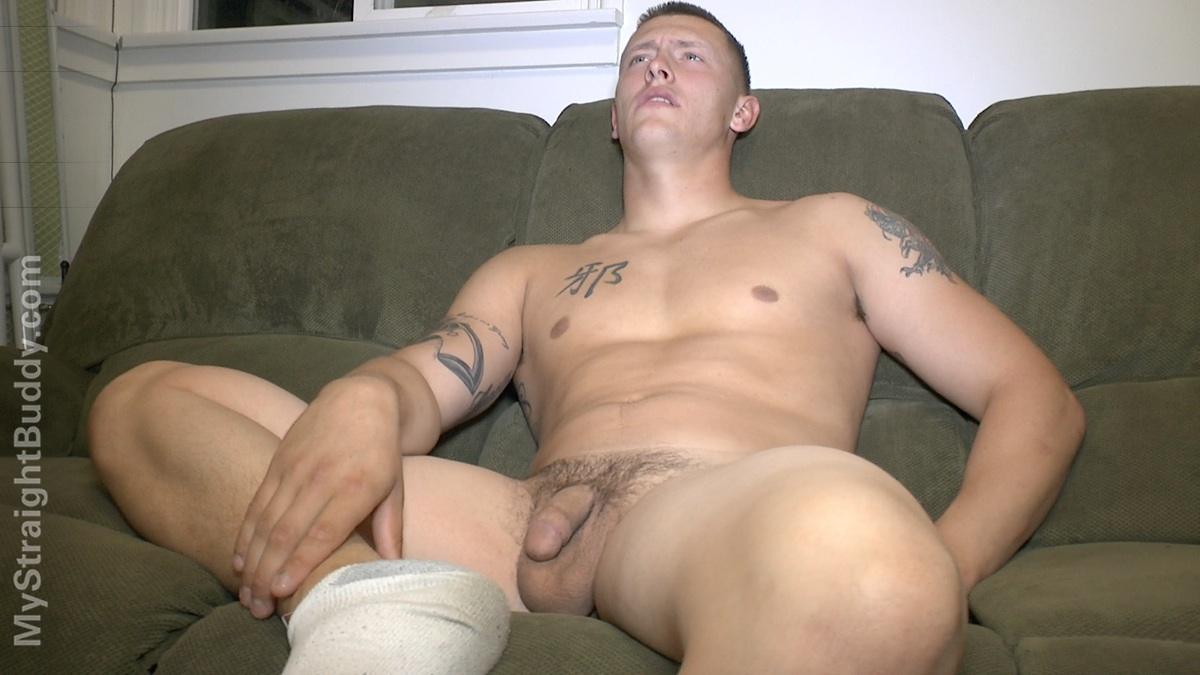 My-Straight-Buddy-Scott-Marine-Masturbating-Jerking-Off-Amateur-Gay-Porn-01 Real Straight Naked Marine Lets It All Hang Out With His Cock Out