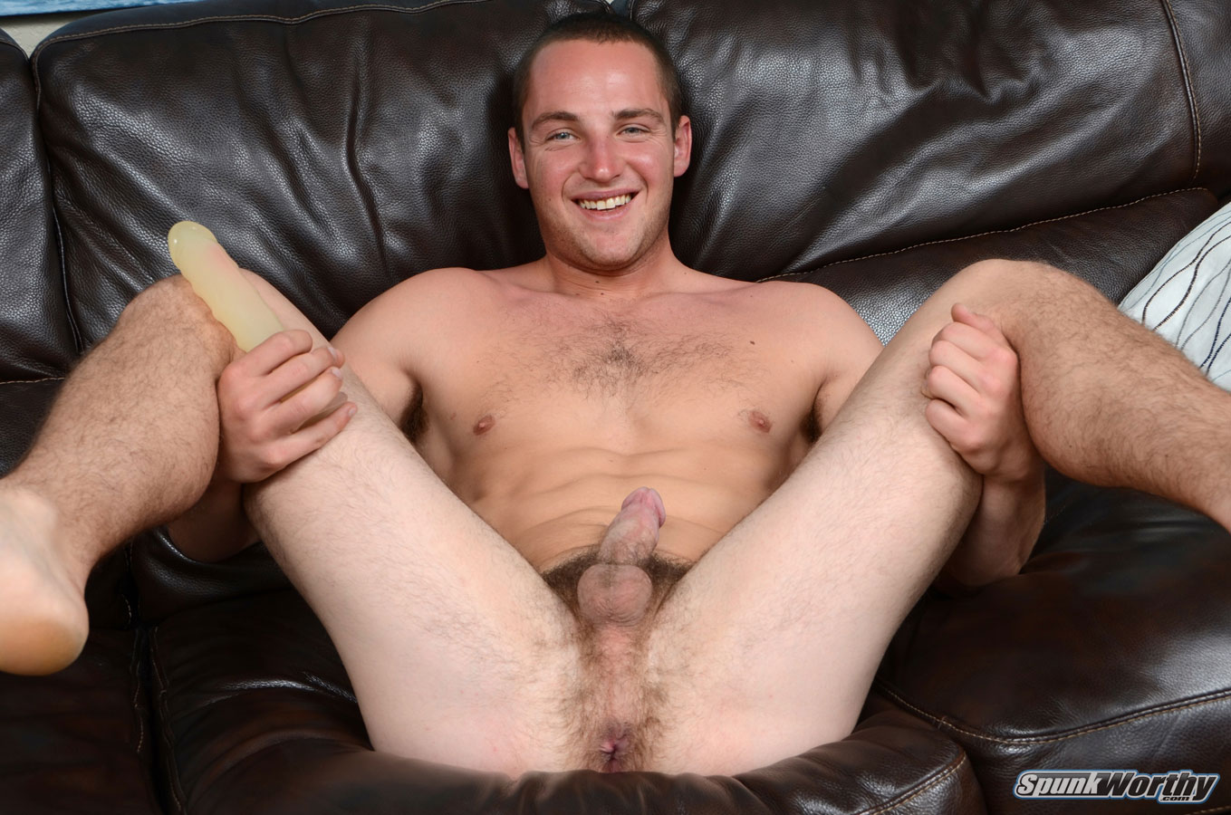 SpunkWorthy-Dean-Straight-Marine-Uses-A-Dildo-On-Hairy-Ass-Amateur-Gay-Porn-04 Ripped Marine Fucks His Straight Hairy Ass With A Dildo