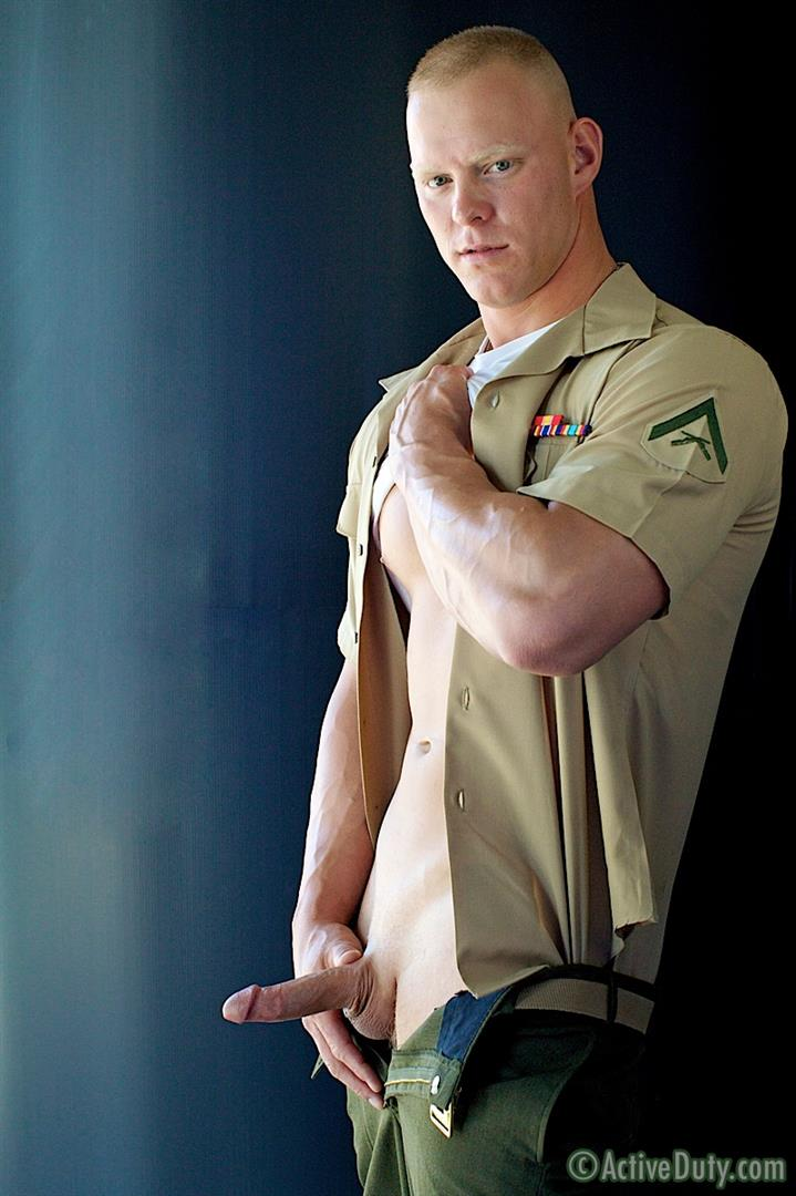 Active Duty Dane Muscle Straight Marine Jerking His Cock Amateur Gay Porn 04 Amateur Straight Redheaded Muscle Marine Jerking Off In Uniform