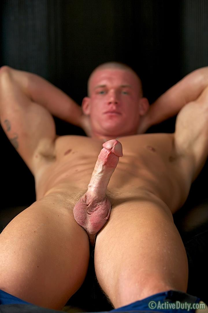 Active Duty Tanner Muscle Marine Jerking His Big Mushroom Head Cock Amateur Gay Porn 15 Semper Fi!  Real Muscle Marine Jerking His Mushroom Head Cock