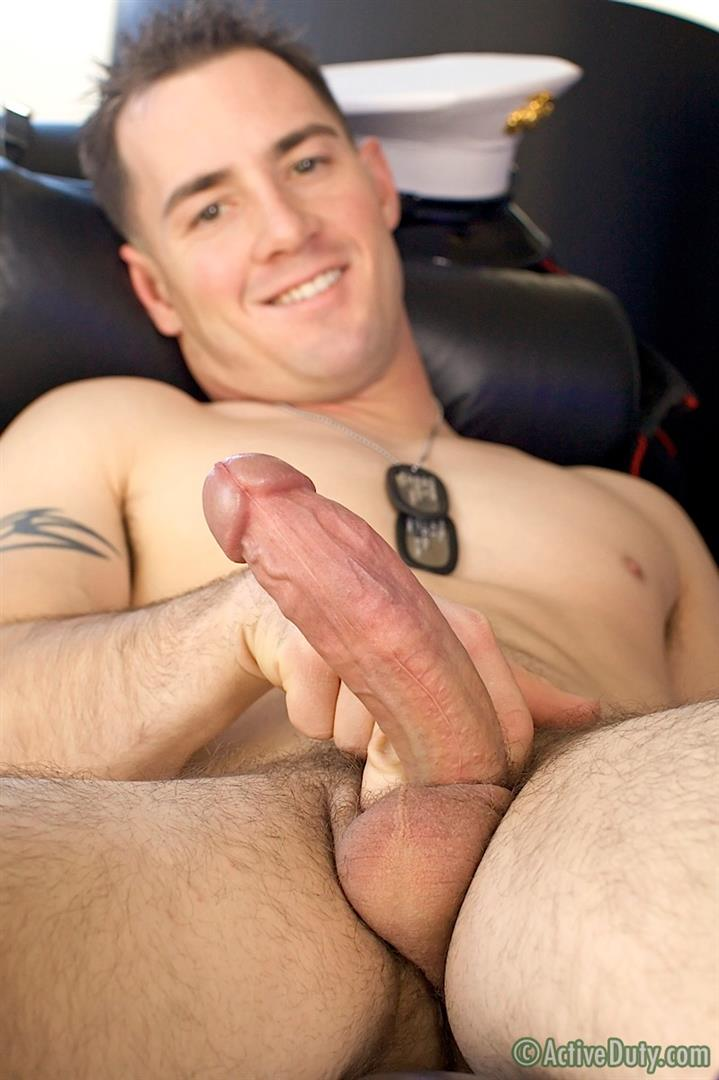 ActiveDuty-Jack-Thick-Cock-Marine-Jerking-Off-Amateur-Gay-Porn-19 Amateur Thick Cock Straight Marine Pulls His Cock Out Of Uniform