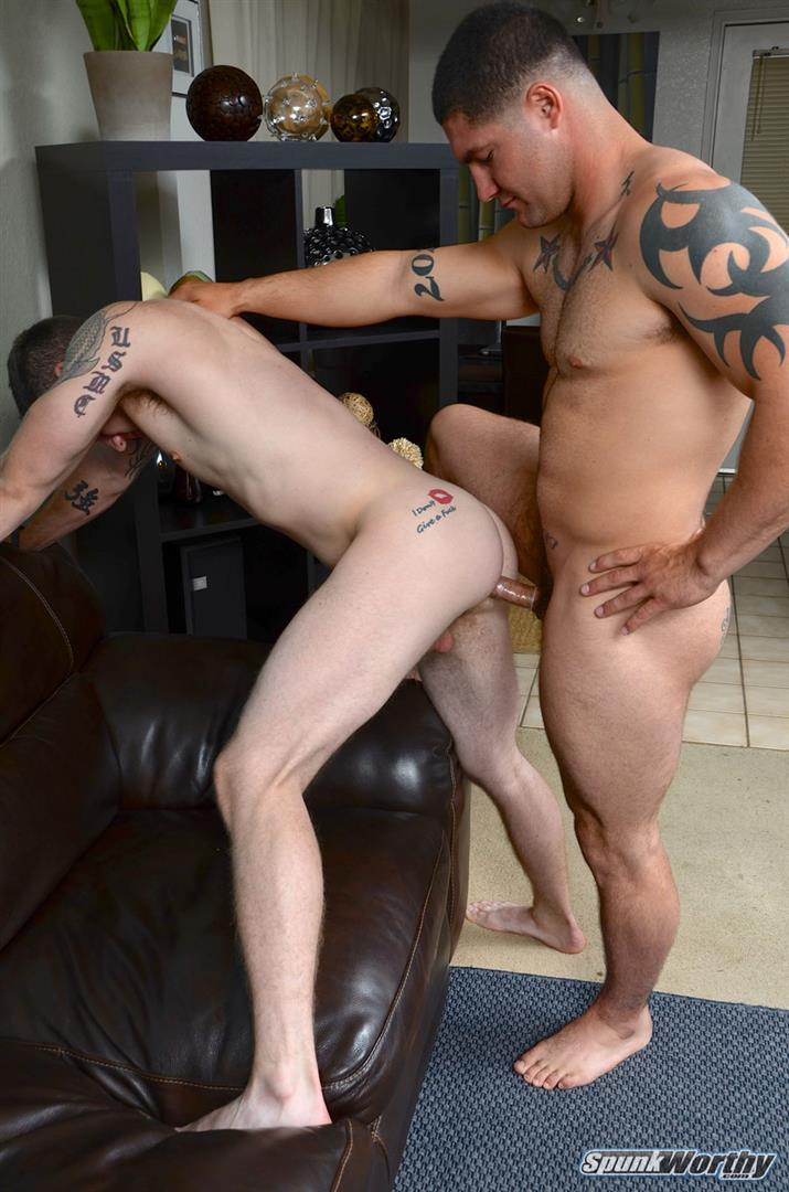 SpunkWorthy-Nicholas-and-Scotty-Beefy-Muscle-Straight-Marine-Fucks-First-Man-Ass-Amateur-Gay-Porn-10 Straight Beefy Muscle Marine Fucks His First Man Ass