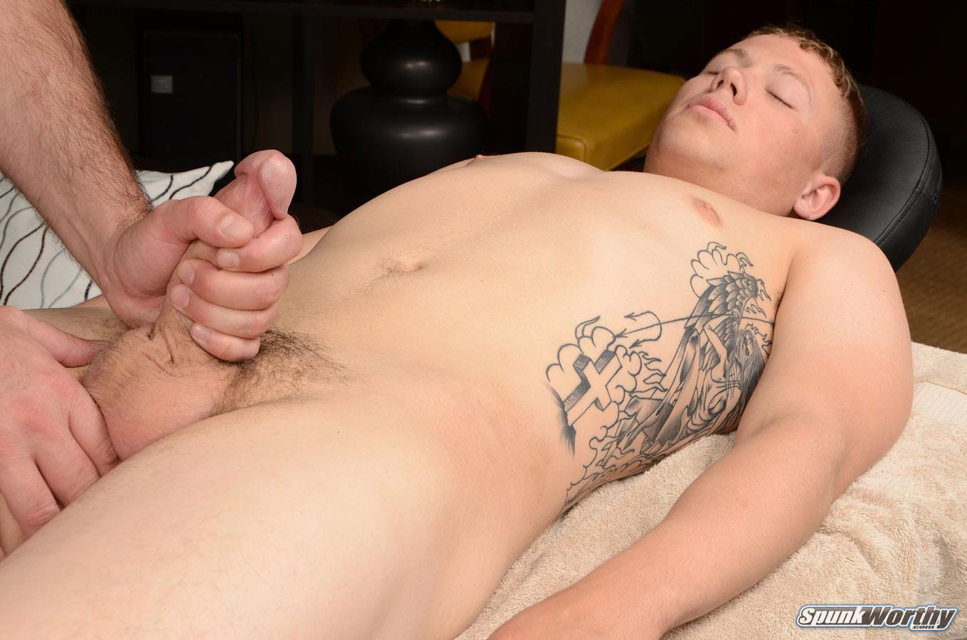 Spunk Worthy Sean Straight Marine Getting Massage With Happy Ending Amateur Gay Porn 09 Straight Marine Gets A Massage With Happy Ending From A Guy