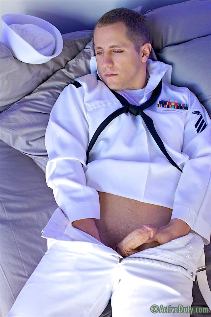 ActiveDuty Navy Seaman Copper Jerking Thick Cock In Navy Uniform Amateur Gay Porn 07 Real Navy Seaman Stripping Out Of Uniform To Jerk His Thick Cock