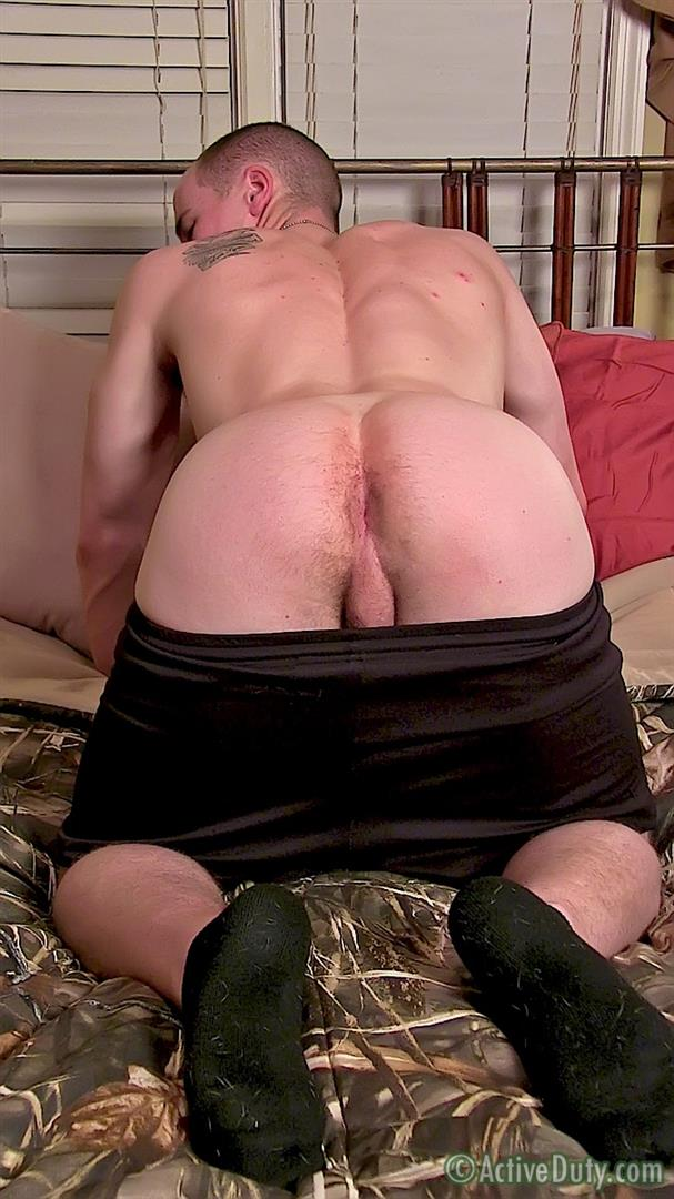 ActiveDuty Orion Ripped Army Guy Jerking His Big Cock Amateur Gay Porn 11 Straight US Army Soldier Orion Jerking His Thick Cock