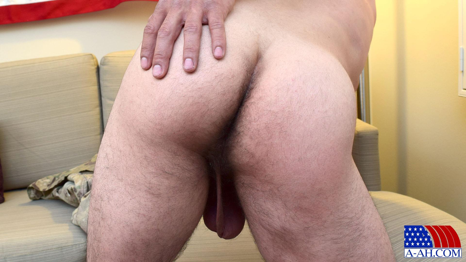 All-American-Heroes-JB-US-Amry-Soldier-Jerking-His-Big-Uncut-Cock-Amateur-Gay-Porn-13 Amateur Straight US Army Specialist Stroking His Big Uncut Cock