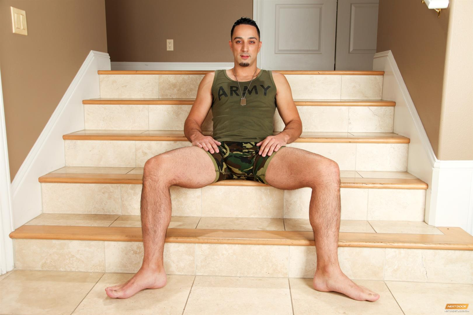 Next Door Buddy Andrew Fitch and Sean Blue Military Army Guy With A Big Cock Fucking Amateur Gay Porn 01 Hung Army Guy Returning From Duty Fucking His Buddy Hard