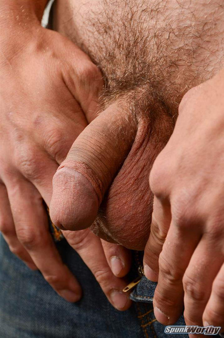 SpunkWorthy Jake Straight Hairy Navy Bear Cub Jerking Off Amateur Gay Porn 04 Straight Hairy Navy Bear Cub Jerks His Hairy Cock