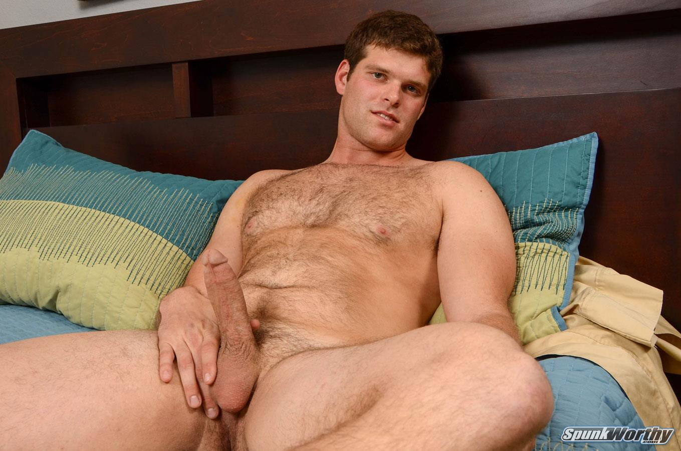 SpunkWorthy Jake Straight Hairy Navy Bear Cub Jerking Off Amateur Gay Porn 08 Straight Hairy Navy Bear Cub Jerks His Hairy Cock