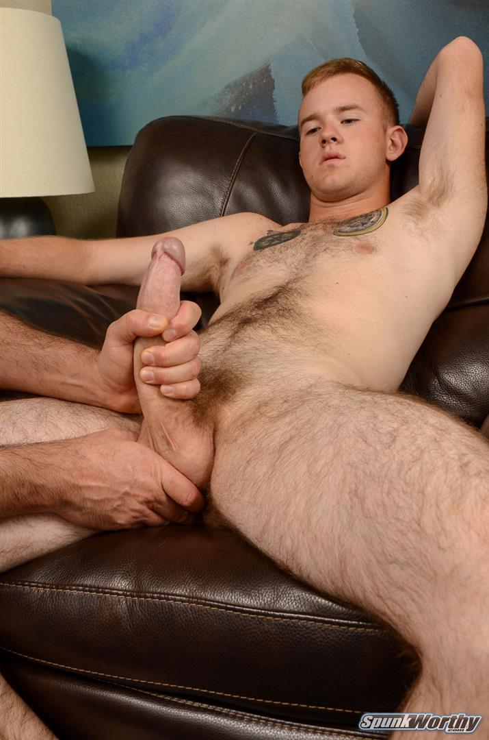 SpunkWorthy Koury Marine Gets A Blow Job and Rimming Amateur Gay Porn 05 Straight Hairy Marine Gets His Big Cock Sucked and Ass Rimmed