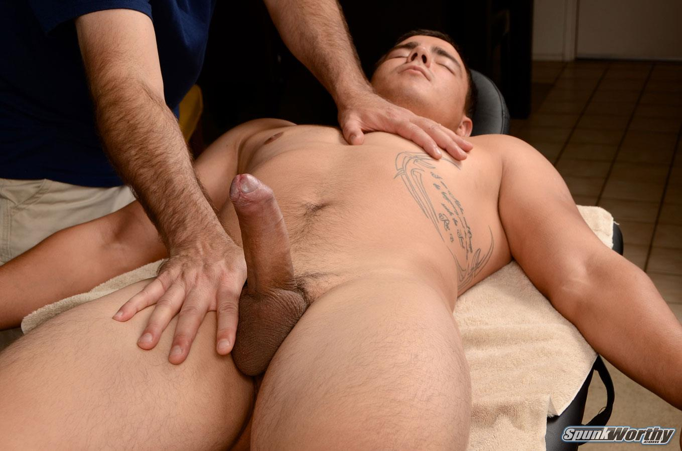 SpunkWorthy Yuri Straight Marine Getting Massage With A Happy Ending Big Uncut Cock Amateur Gay Porn 13 Straight Uncut Marine Gets A Massage With A Happy Ending From A Guy