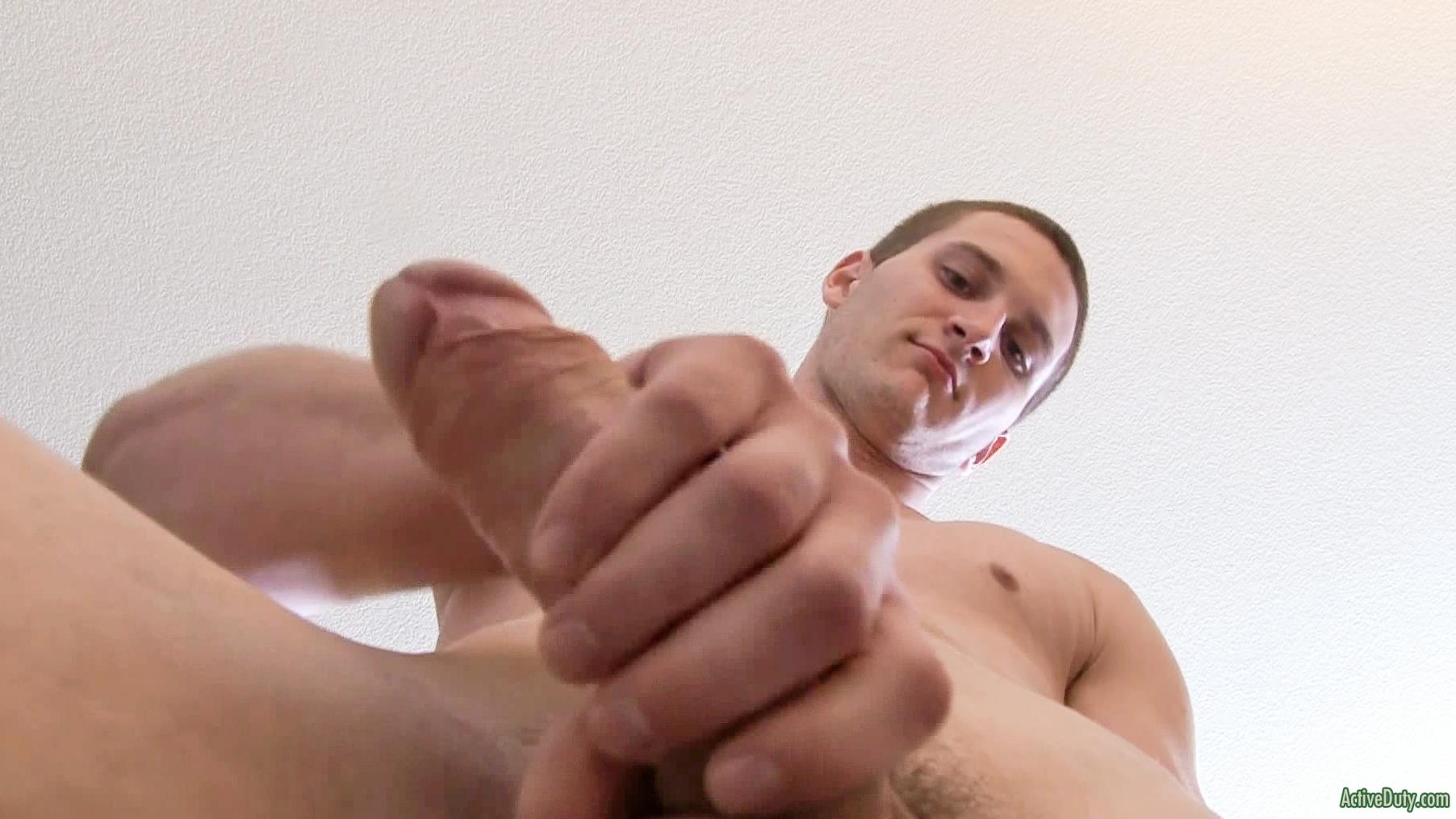 Active-Duty-Allen-Lucas-Army-Private-Jerking-Off-Big-Uncut-Cock-Amateur-Gay-Porn-09 US Army Private Jerking His Big Uncut Cock