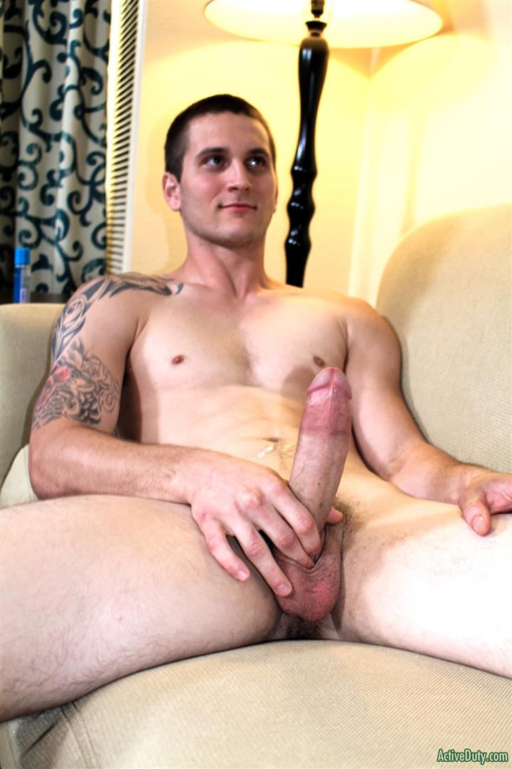 Active Duty Allen Lucas Army Private Jerking Off Big Uncut Cock Amateur Gay Porn 12 US Army Private Jerking His Big Uncut Cock