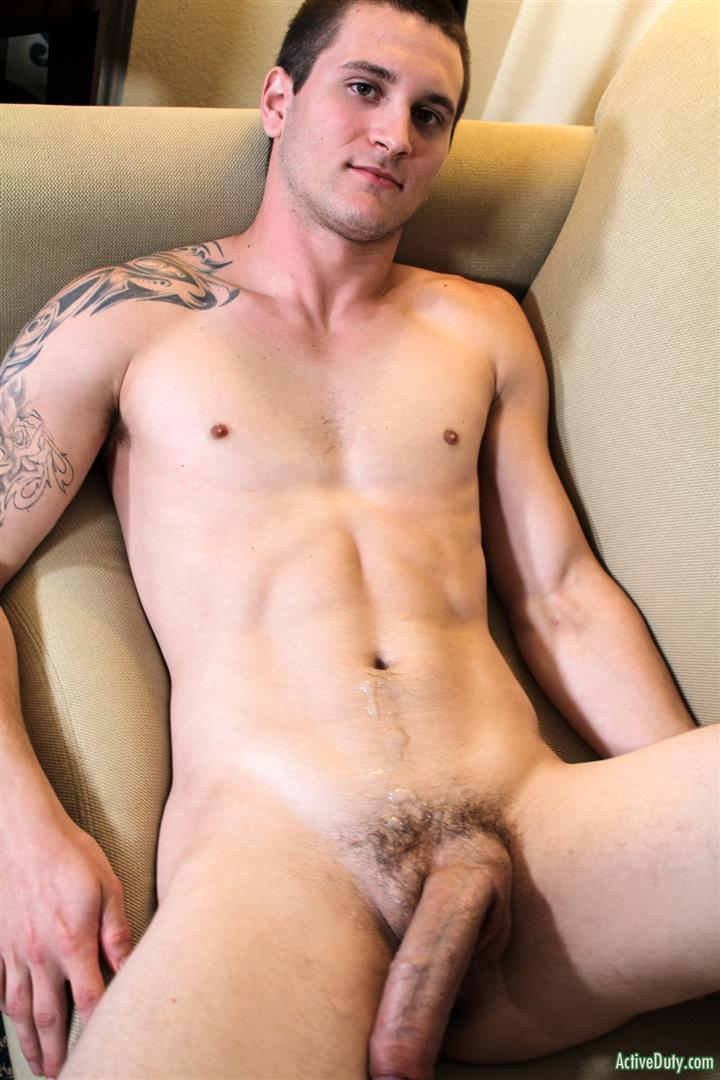 Active Duty Allen Lucas Army Private Jerking Off Big Uncut Cock Amateur Gay Porn 13 US Army Private Jerking His Big Uncut Cock