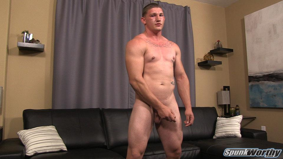 Straight guy videos military jerk off