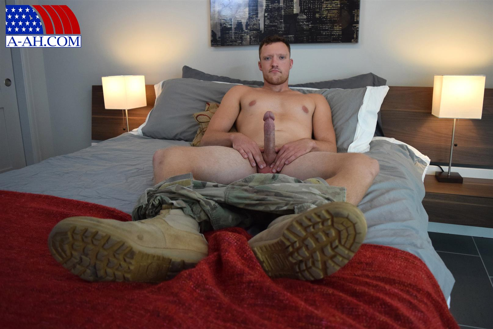 All American Heroes Randy Army Sergeant Naked With A Big Cock Amateur Gay Porn 04 Army Sergeant Comes Out Of The Closet in Afghanistan