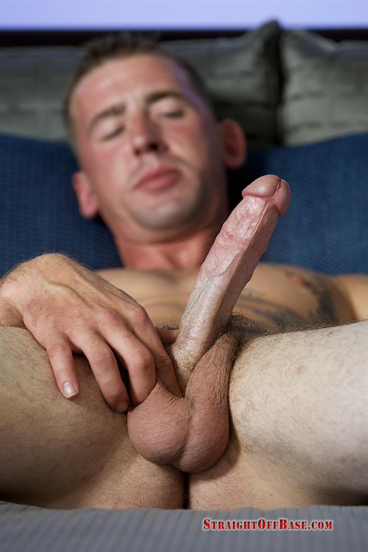 Straight Off Base Naked Marine Jerking Off Dean Amateur Gay Porn 07 Straight US Marine Sergeant Rubs One Out Of His 8 Cock