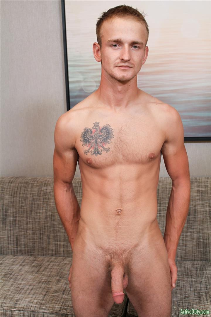 Active Duty Kevin Reed Naked Navy Guy Jerking Big Cock 05 Navy Recruit Kevin Reed Jerks His Big Cock