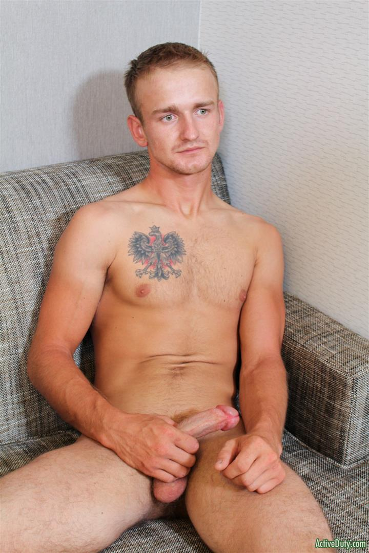 Active Duty Kevin Reed Naked Navy Guy Jerking Big Cock 08 Navy Recruit Kevin Reed Jerks His Big Cock