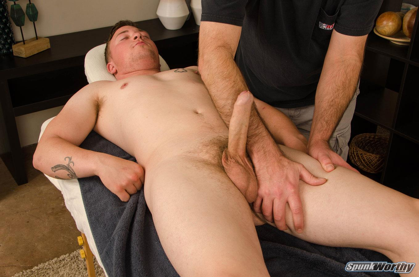 SpunkWorthy-Wayne-Marine-With-A-Big-Uncut-Cock-13 Straight Military Redneck Get His Big Uncut Cock Jerked Off
