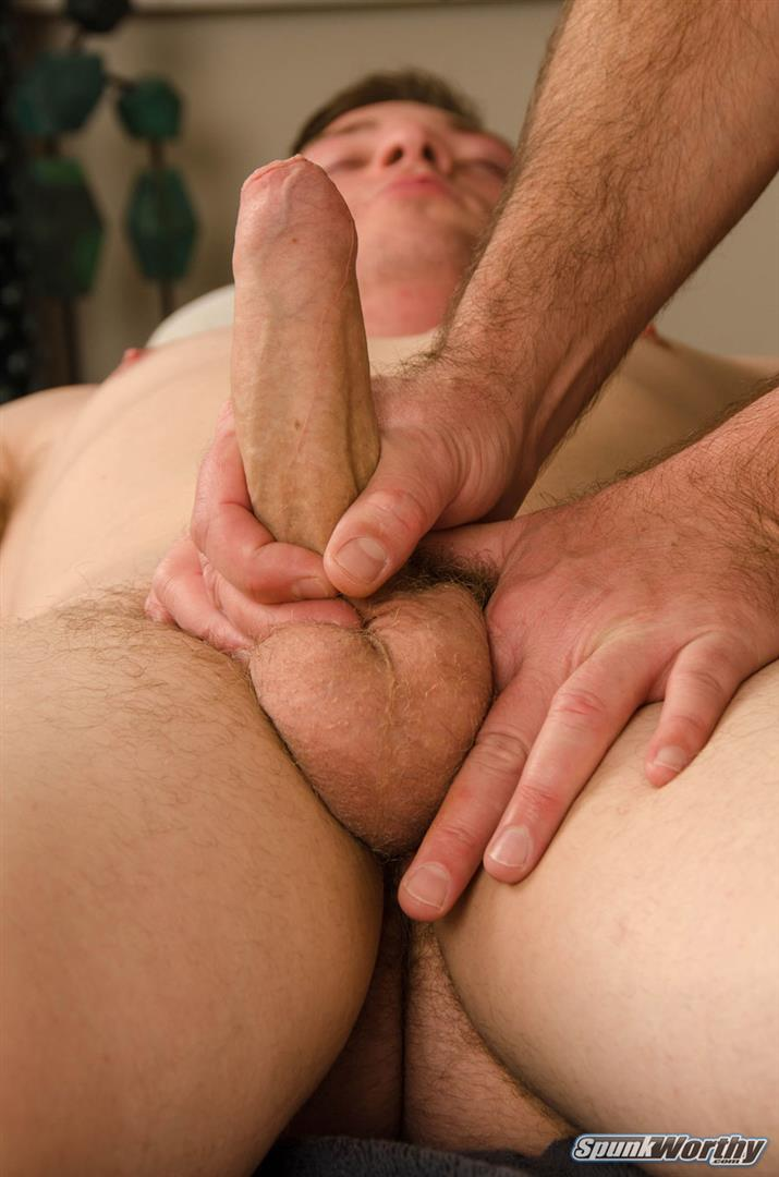 SpunkWorthy Wayne Marine With A Big Uncut Cock 14 Straight Military Redneck Get His Big Uncut Cock Jerked Off