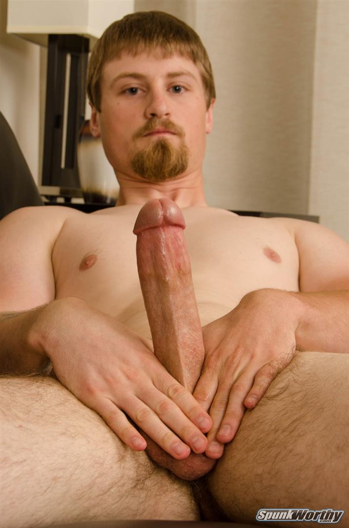 SpunkWorthy-Sutter-Straight-Naked-Sailor-Jerking-Off-Big-Cock-14 Tall Straight Navy Sailor Shoots A Big Load From His 8