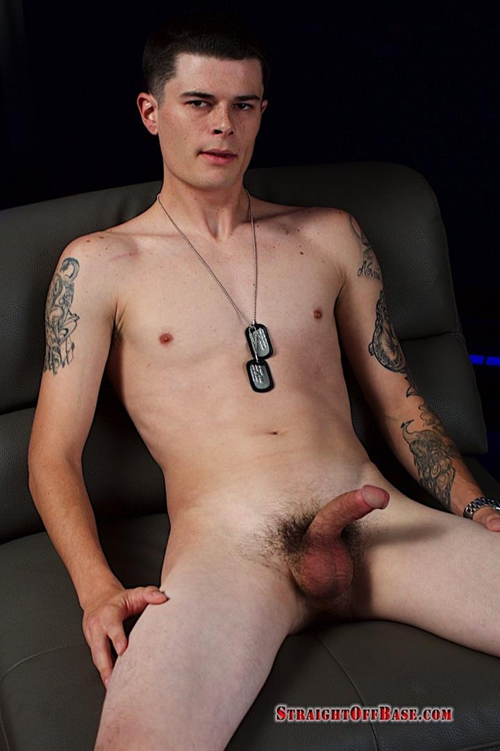 Straight-Off-Base-Sonny-Naked-Navy-Officer-Jerking-His-Cock-08 23-Year Old Straight Navy Petty Officer Jerking Off