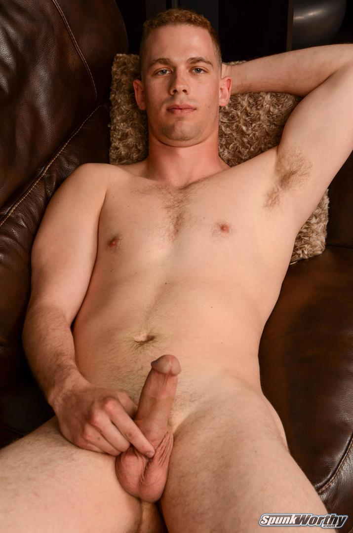 SpunkWorthy-Ken-Big-Dick-Marine-Gets-Jerked-off-By-A-Guy-13 Horned Up US Marine Gets A Surprise Handjob From Another Guy