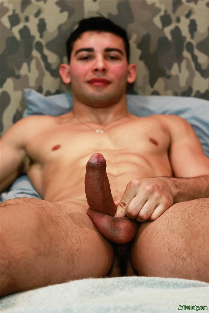 Active-Duty-Monte-Marcello-Big-Uncut-Dick-Soldier-Jerking-Off-With-Hairy-Ass-11 US Army Private Jerks His Big Uncut Cock And Shows Off His Hairy Hole