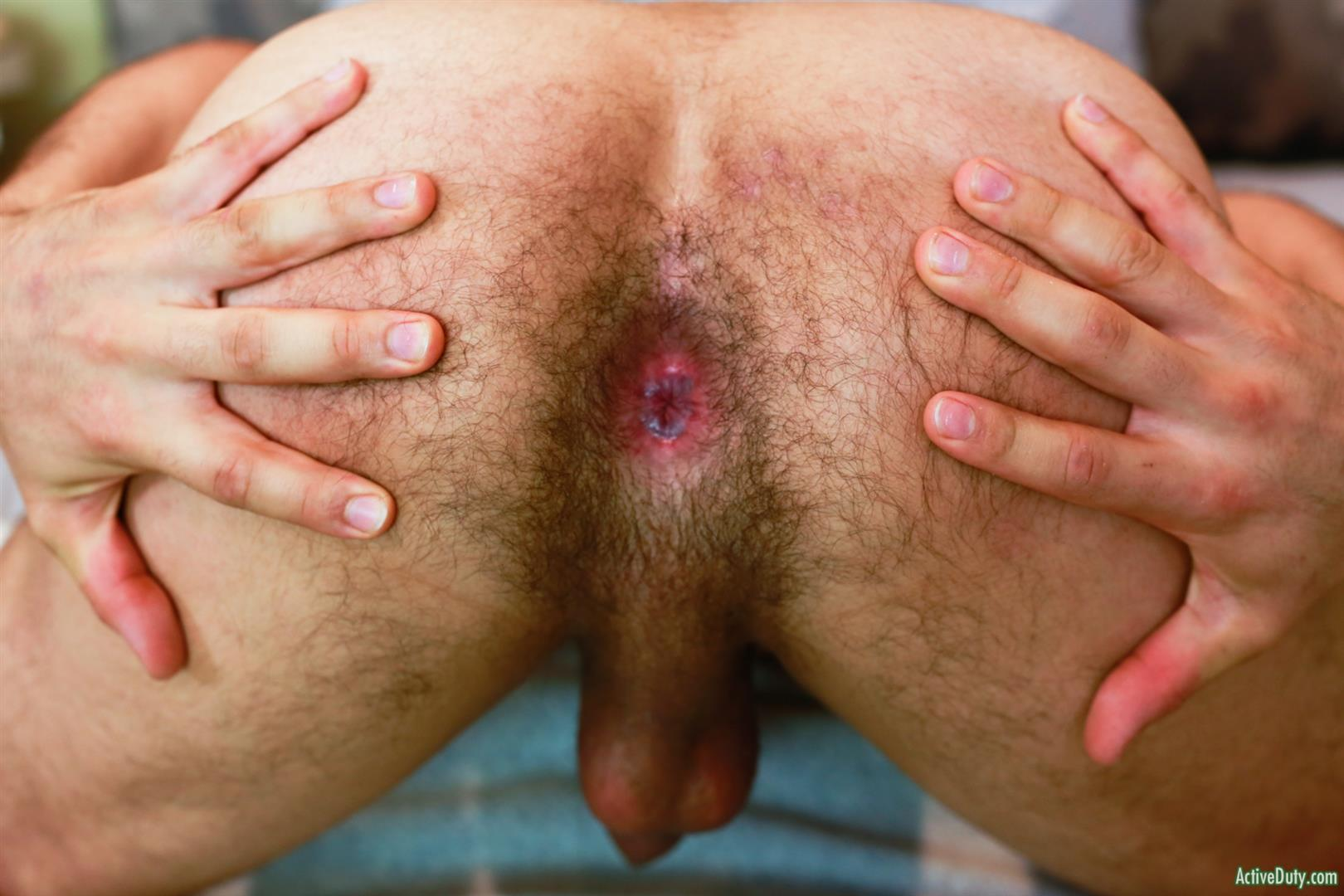 Active-Duty-Monte-Marcello-Big-Uncut-Dick-Soldier-Jerking-Off-With-Hairy-Ass-15 US Army Private Jerks His Big Uncut Cock And Shows Off His Hairy Hole
