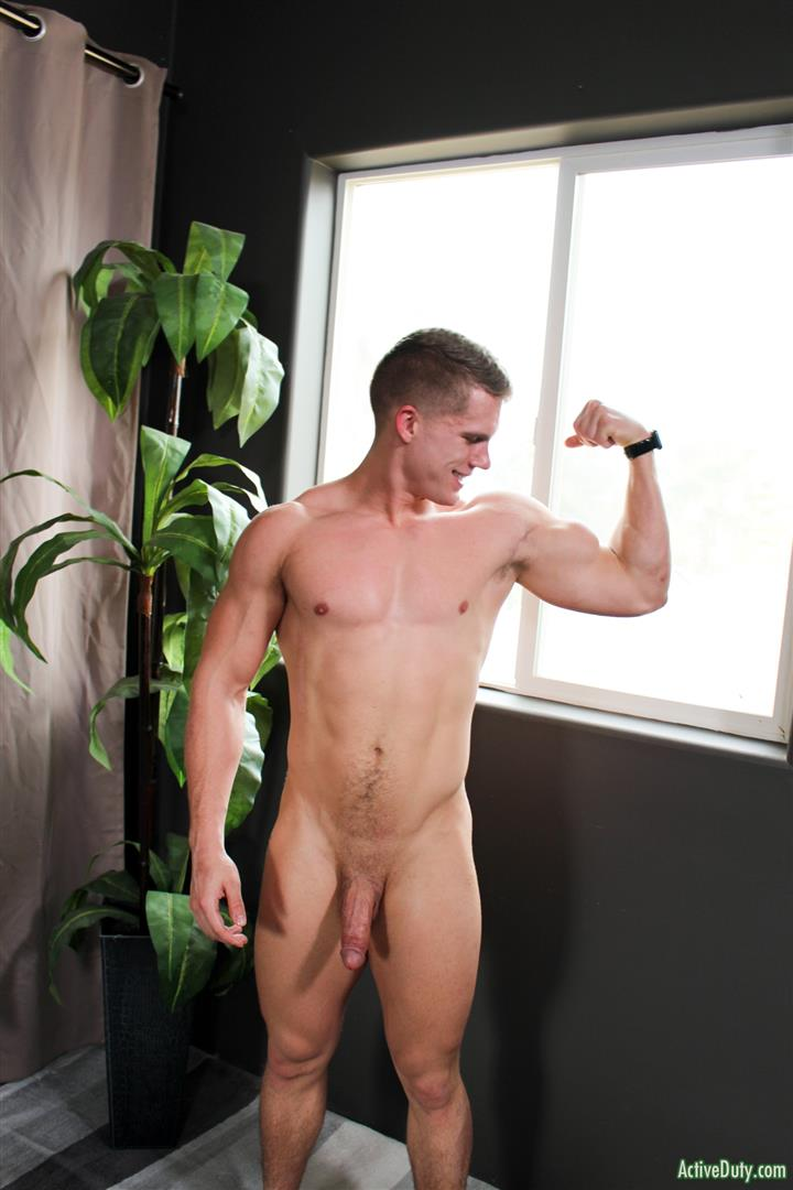 Active-Duty-Danny-D-Naked-US-Marine-Jerking-Off-His-Big-Cock-12 Naked Muscular US Marine Jerking Off His Big Cock