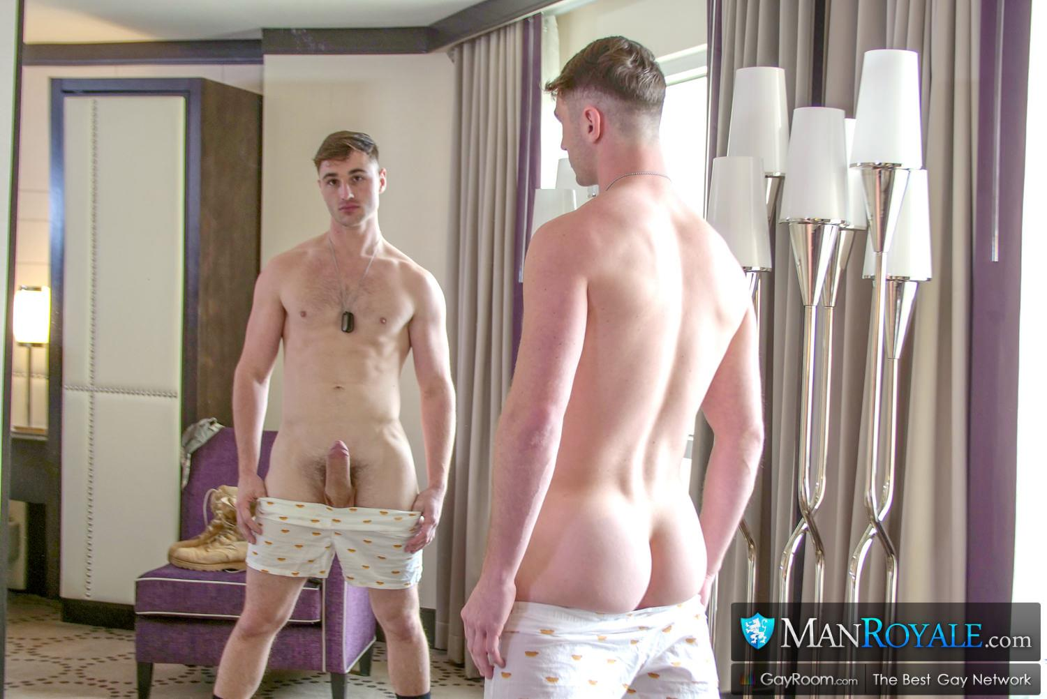 Man-Royale-Wesley-Woods-and-Michael-Boston-Big-Dick-Army-Soldier-Getting-Fucked-02 Sending The Boy Off To Boot Camp With A Hard Fucking And A Cum Facial